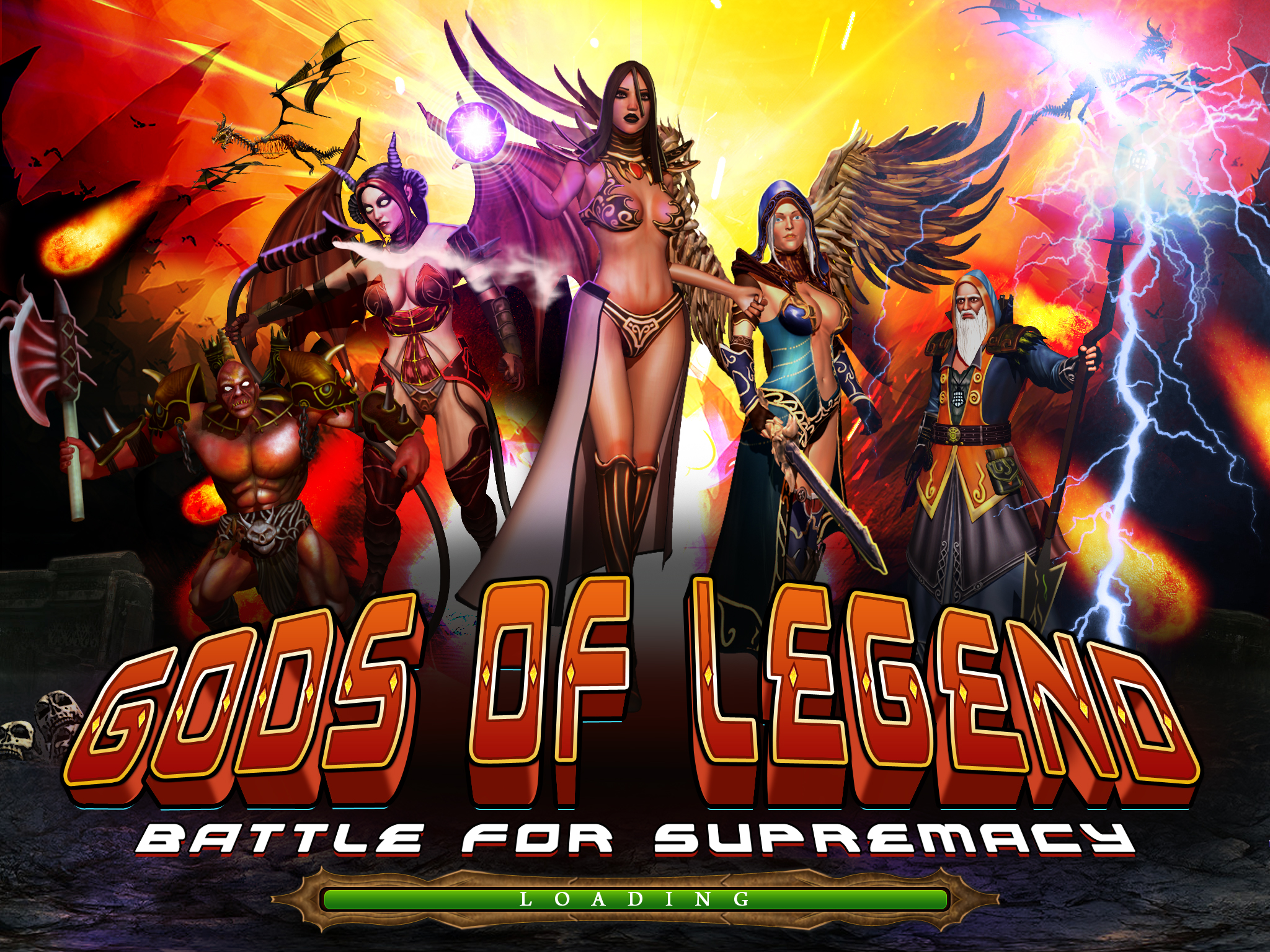 Gods Of Legend