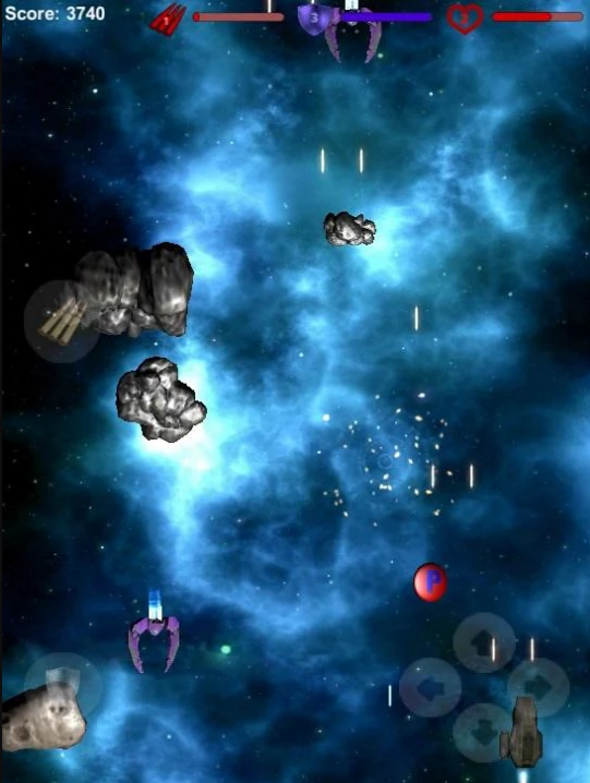 Kuiper belt Space Shooter