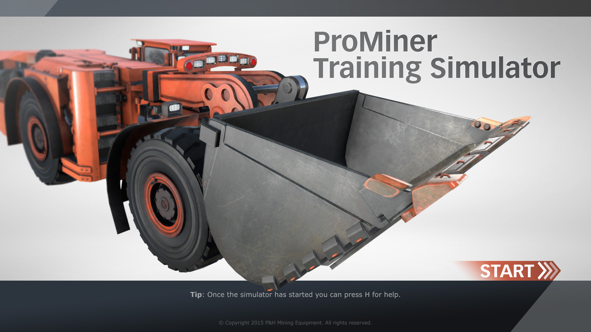 ProMiner Training Simulator