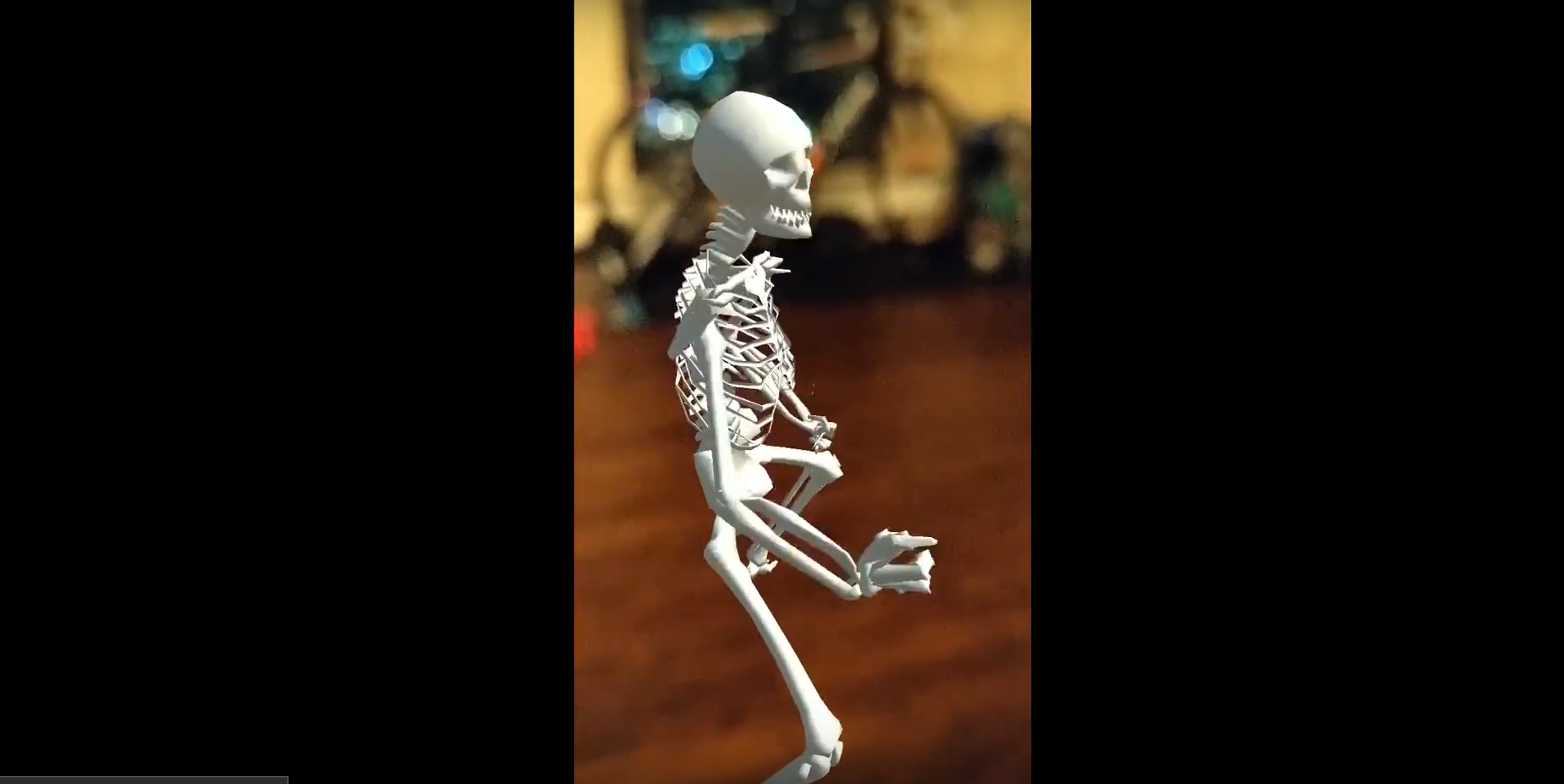 Spooky Scary Skeletons (Augmented Reality)