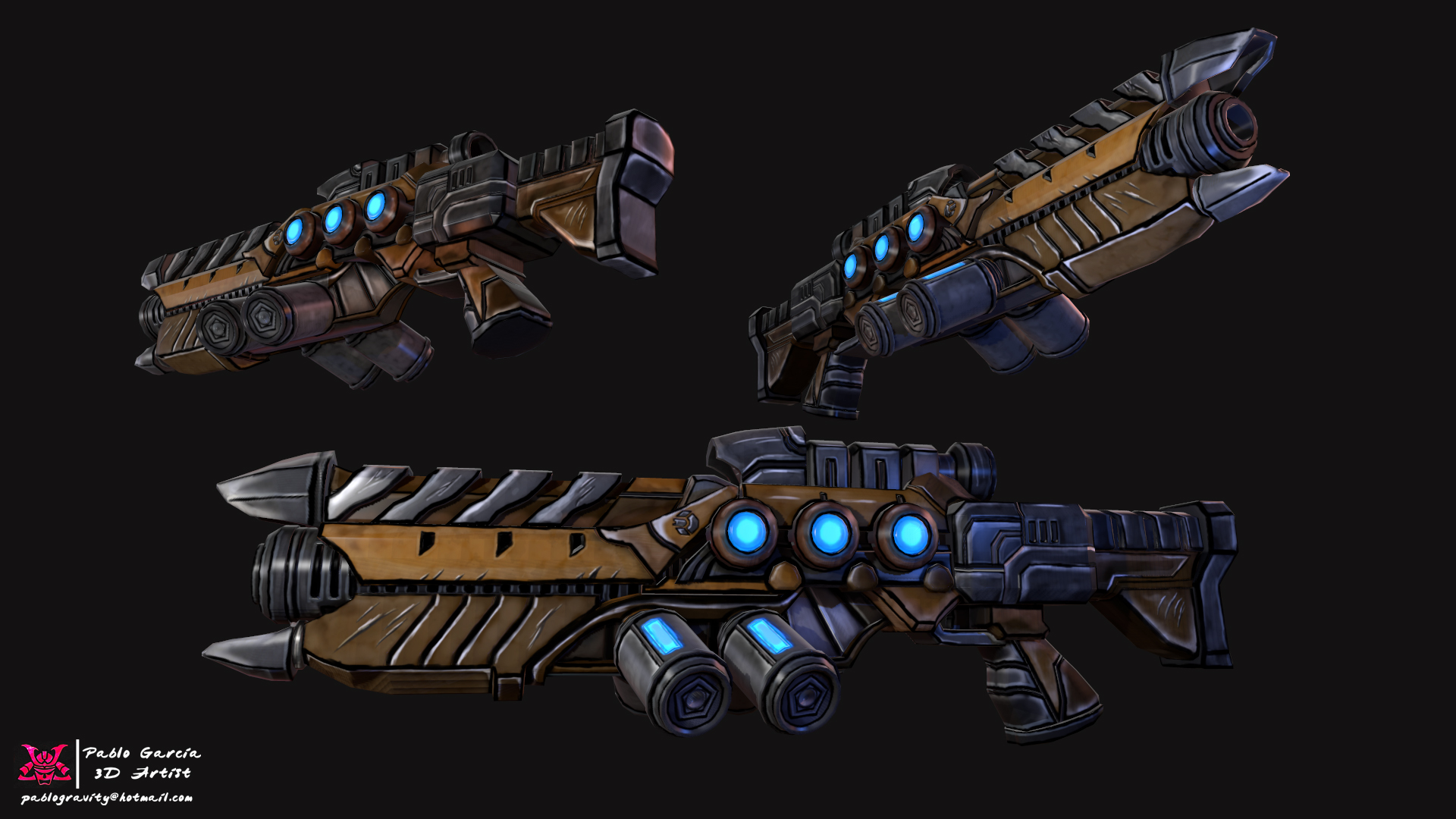 Stylized Lazer Rifle
