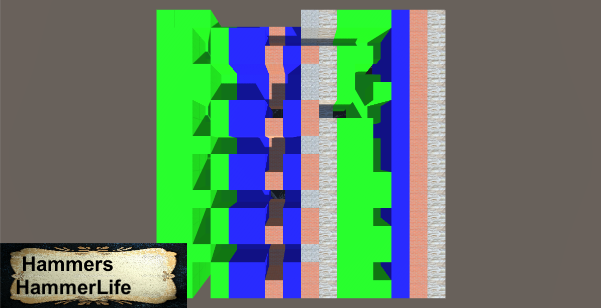 Simple 3D maze game