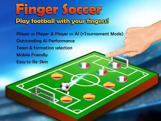 Finger Soccer Game Kit