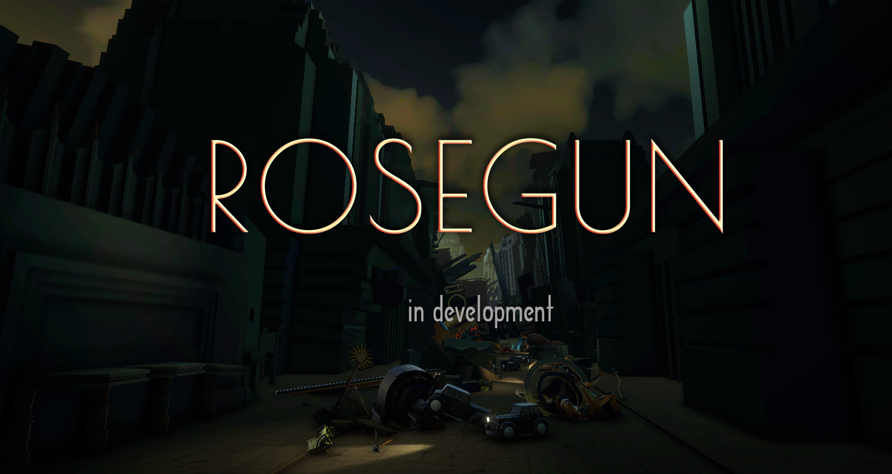 Rosegun - a FPS, adventure & story-rich game