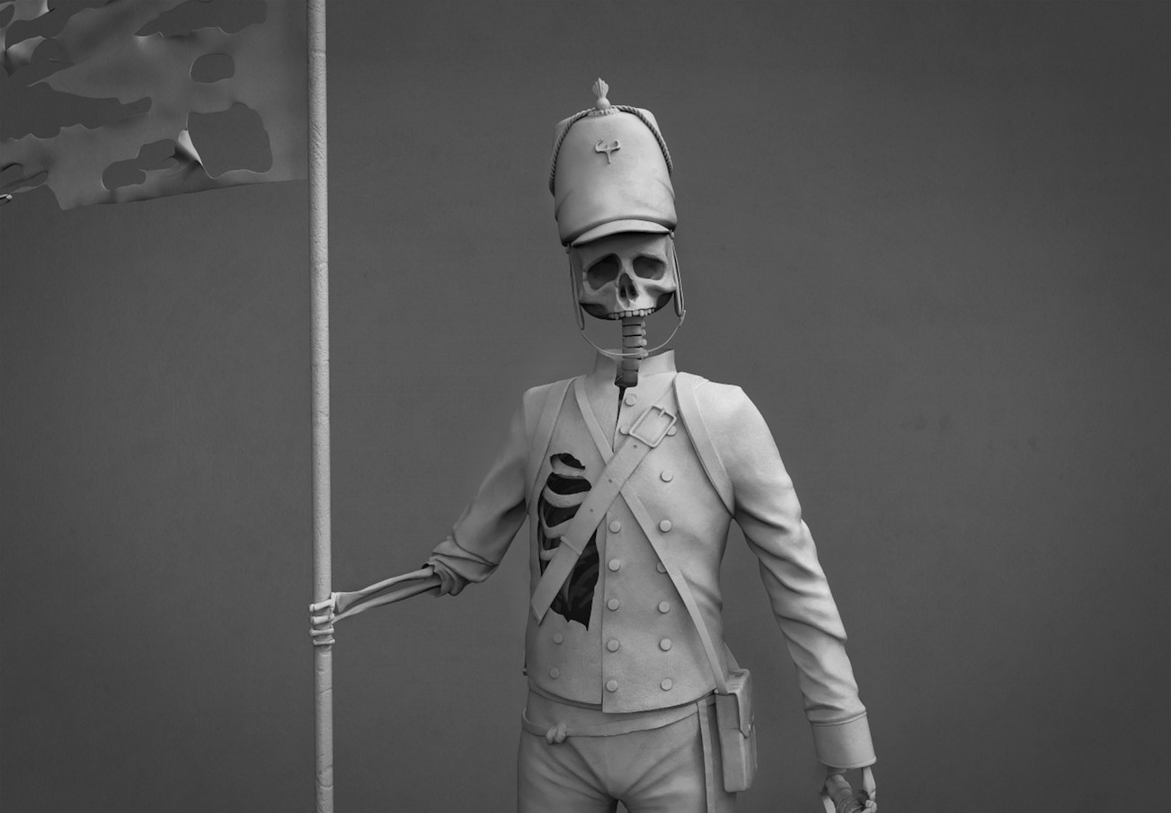 Old Skeleton Soldier