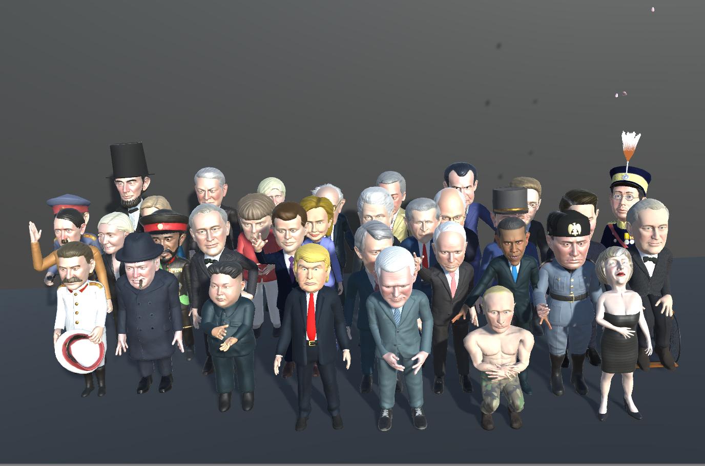 Politicians mega pack
