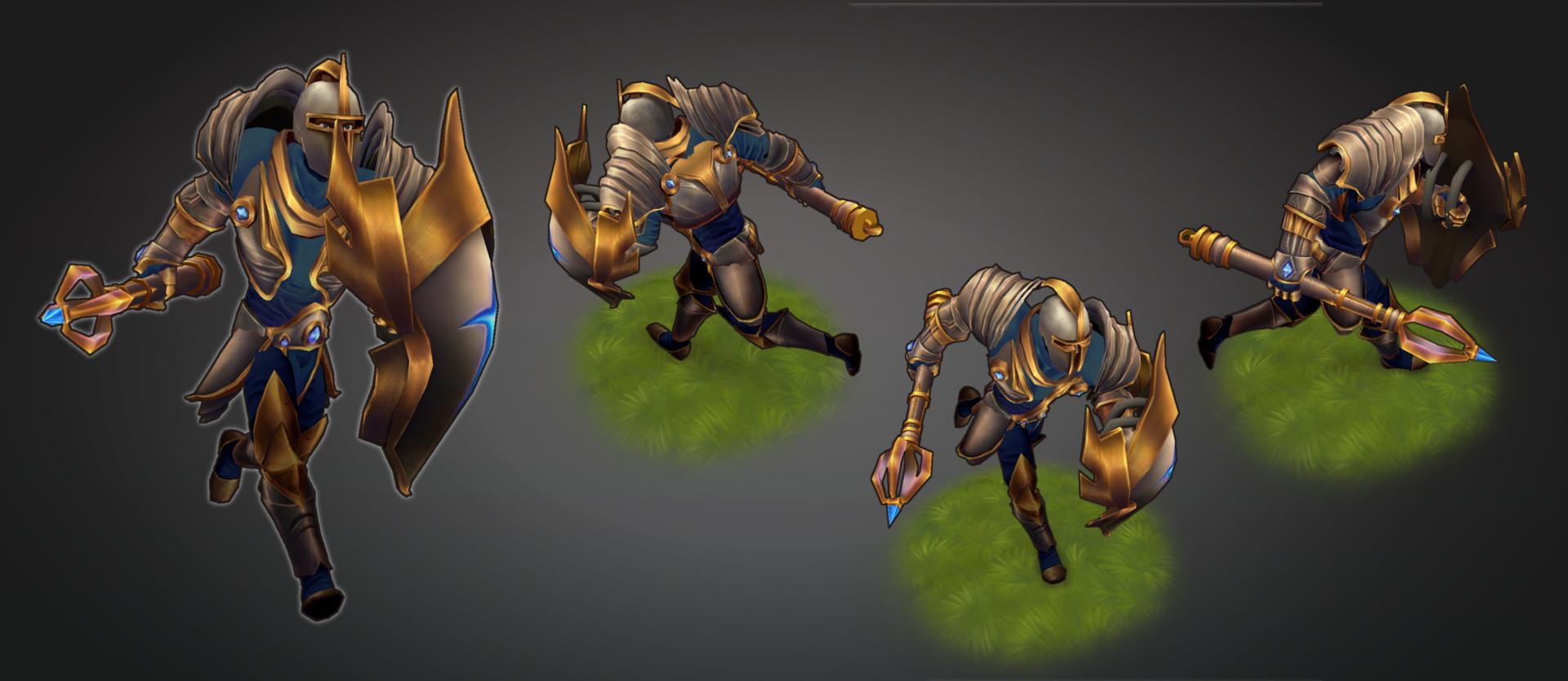 Oberon Warrior