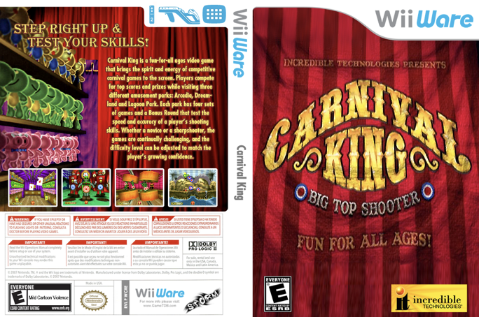 Carnival King for Nintendo WiiWare