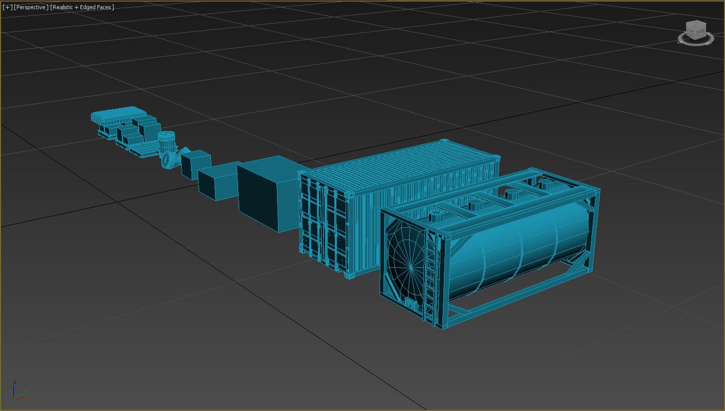 PBR RPG/FPS game assets v1 industrial (in developing)