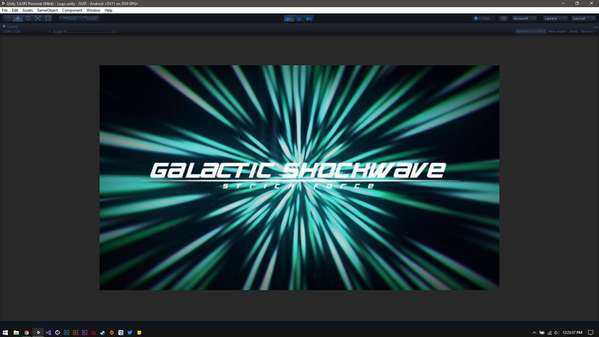 Galactic Shockwave