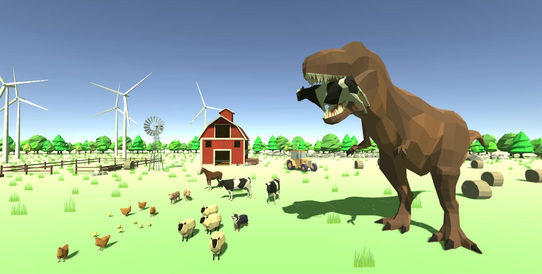 Hangry Farmersaurus-Rex