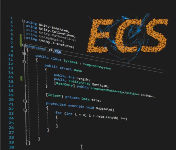 Part 2: Unity ECS - project design