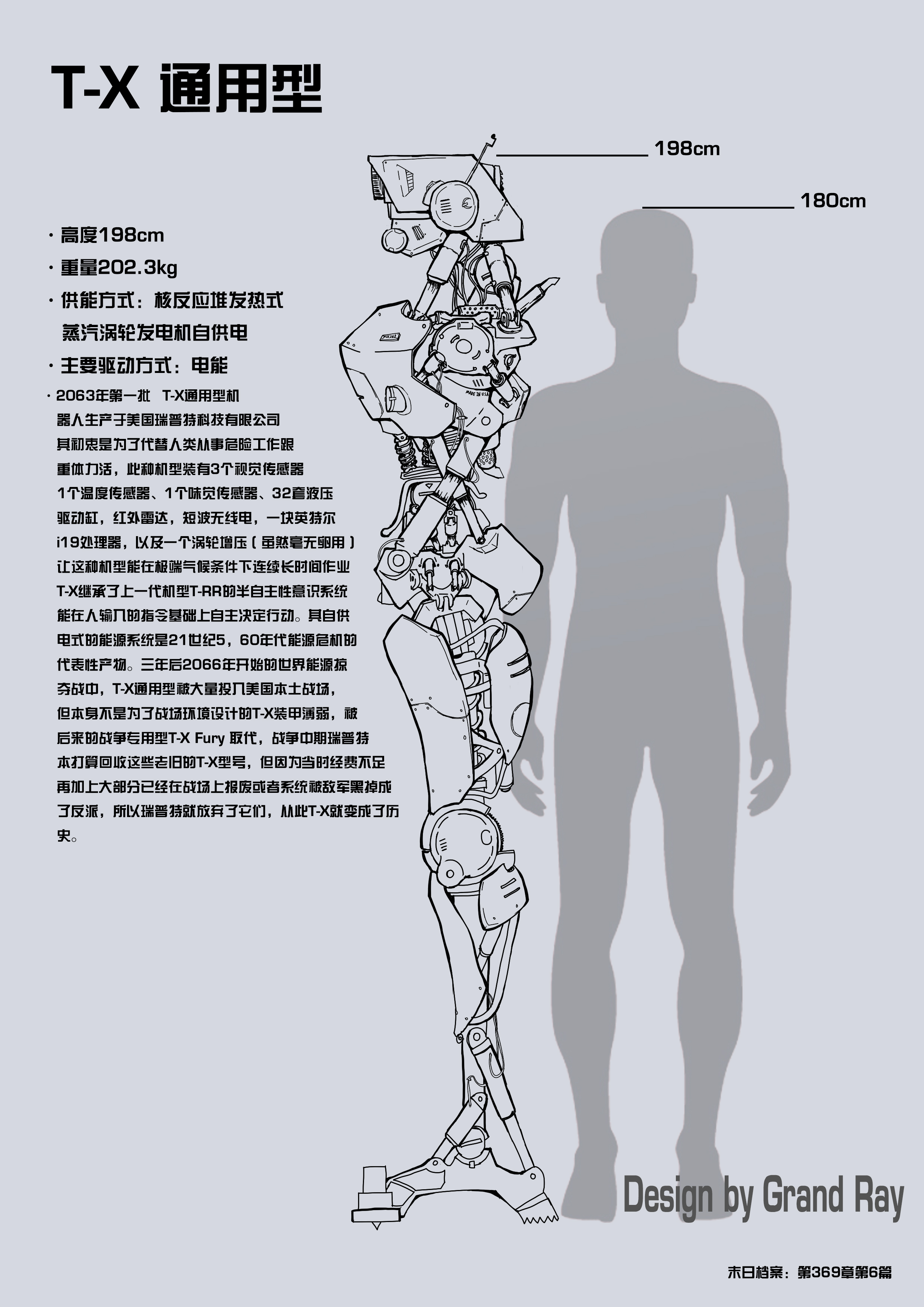 T-X robot design