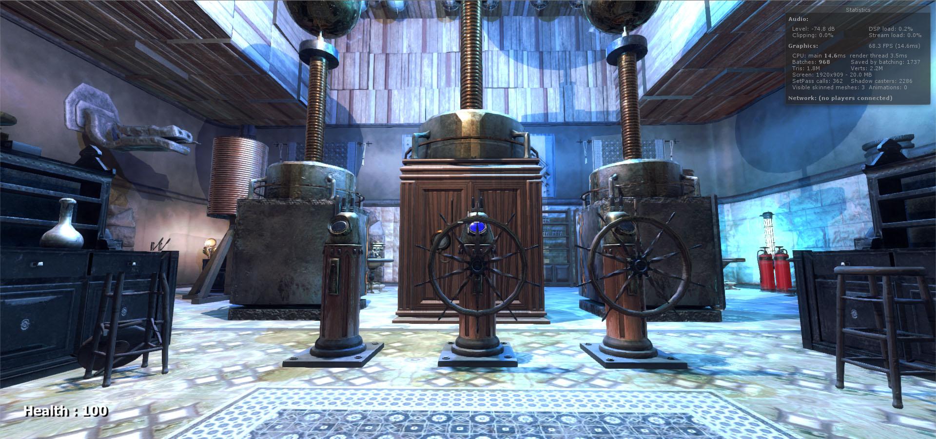 Mad Scientist's Laboratory & Lair 1.1 Update