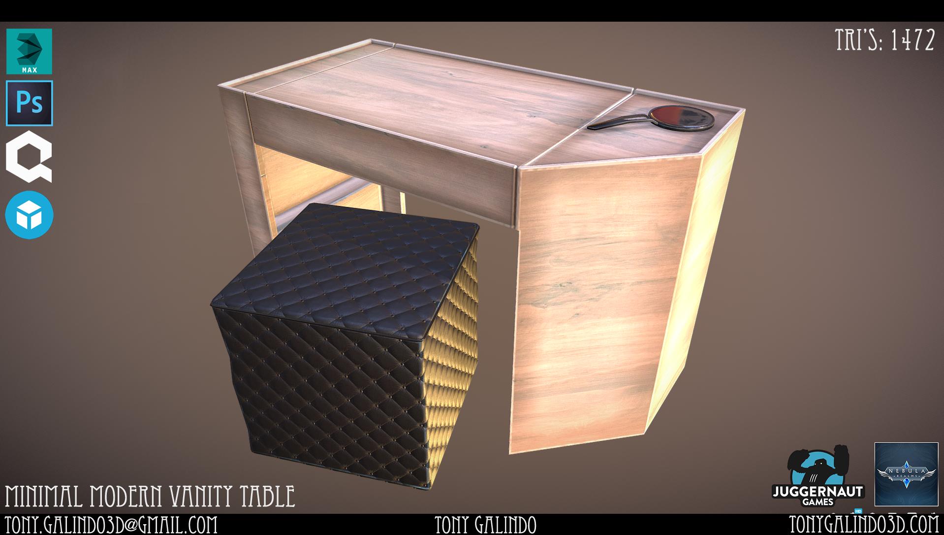 Nebula Realms - Minimal Modern Furniture Pack