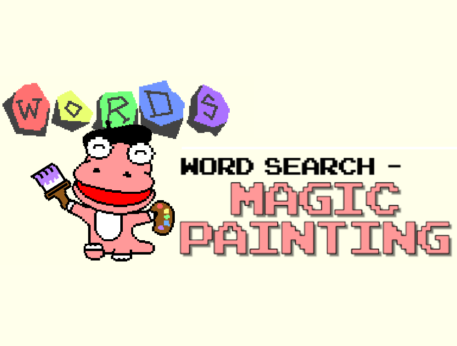 Word Search : Magic Painting