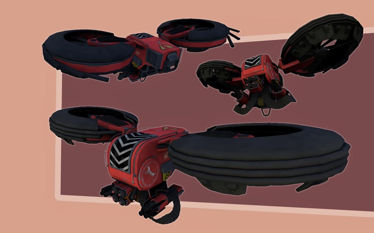 TF2 Flying Sentry
