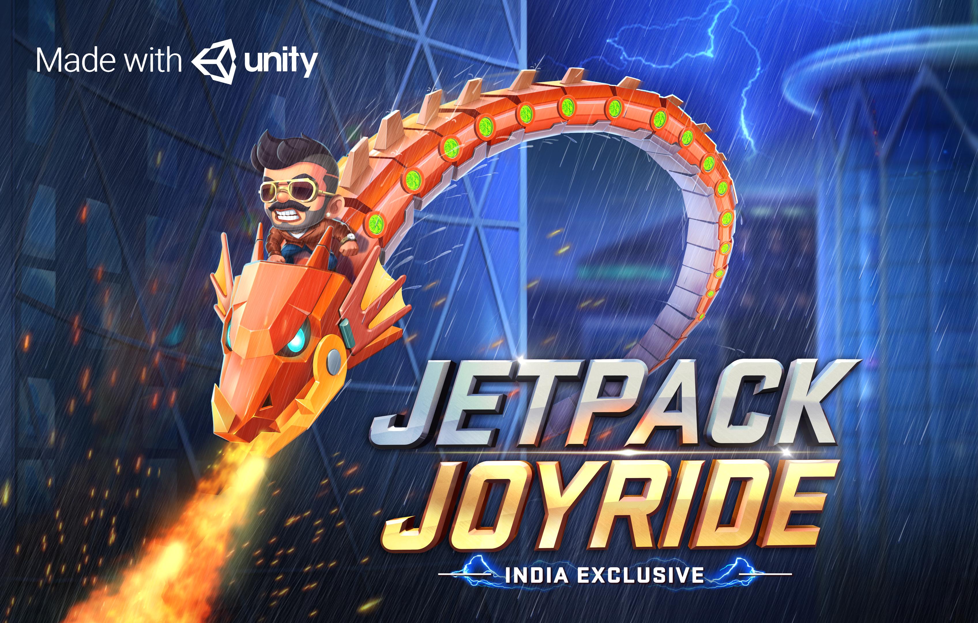 Jetpack Joyride India - Unity Connect