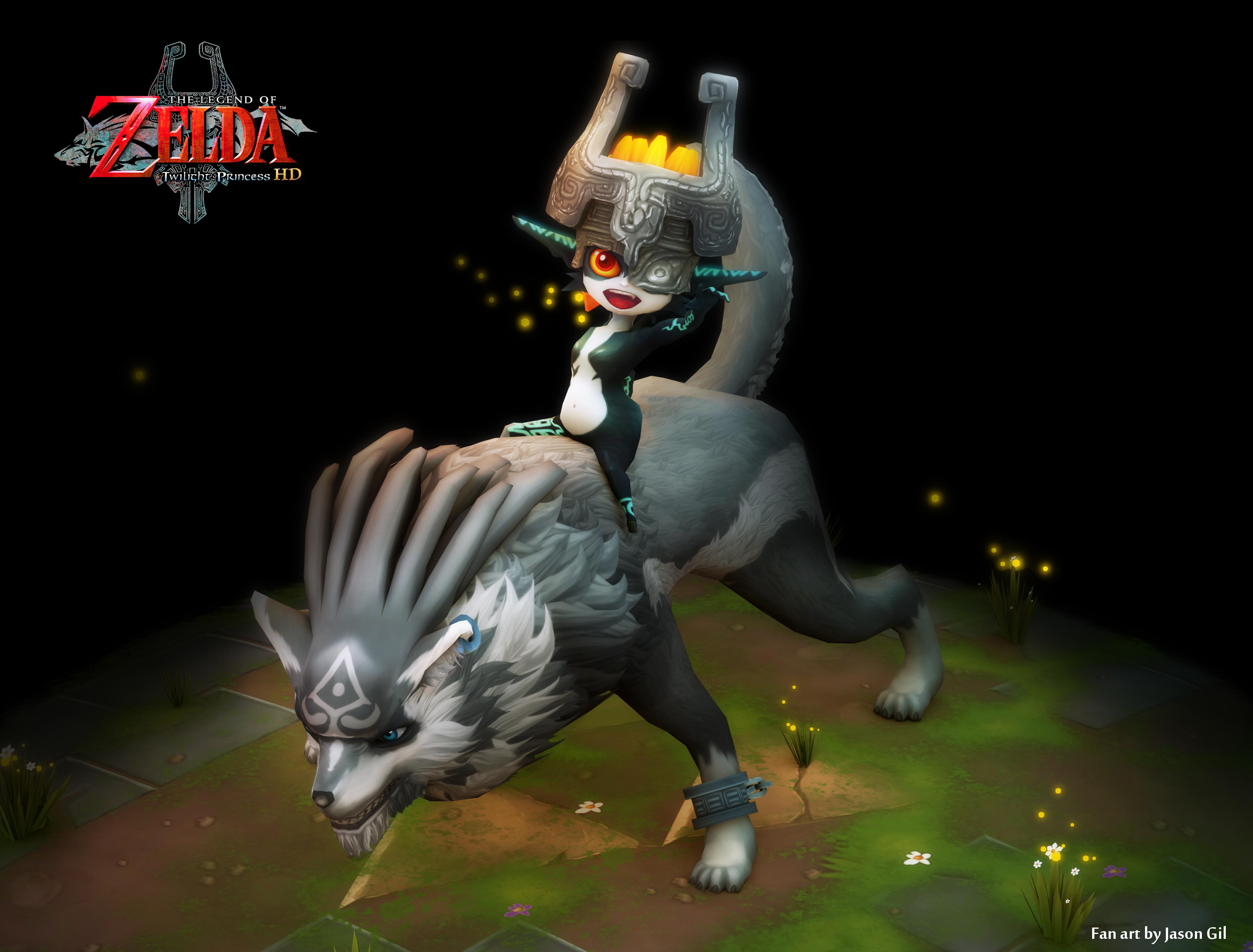 The Legend of Zelda The Twilight Princess Fan Art