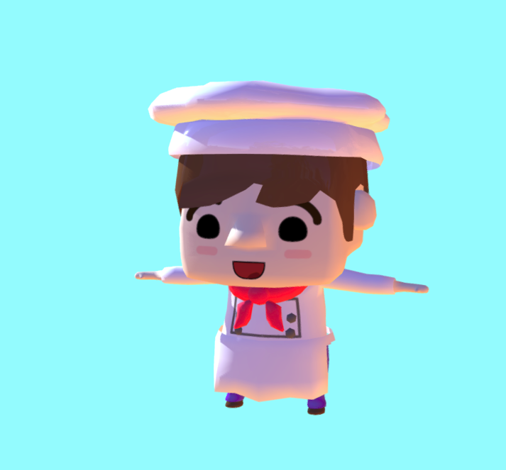 Chef Game 3D Assets