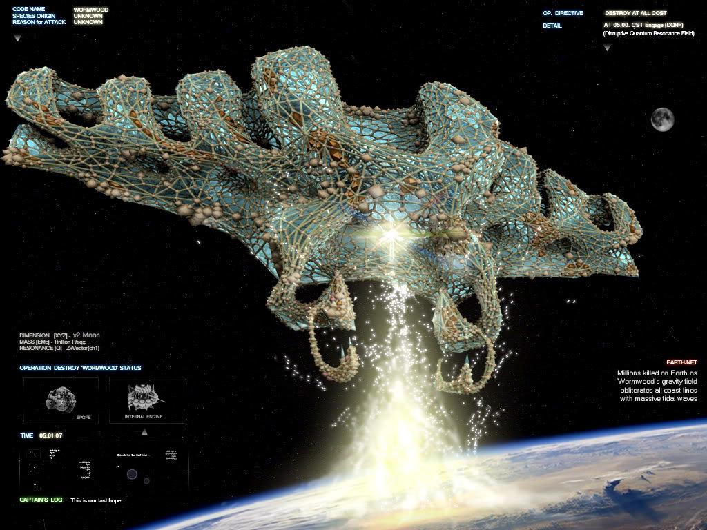 Sci-fi - Concept Art - Houdini