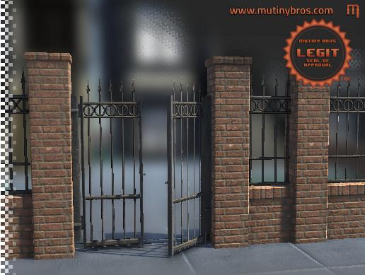 PBR Modular Fence Pack