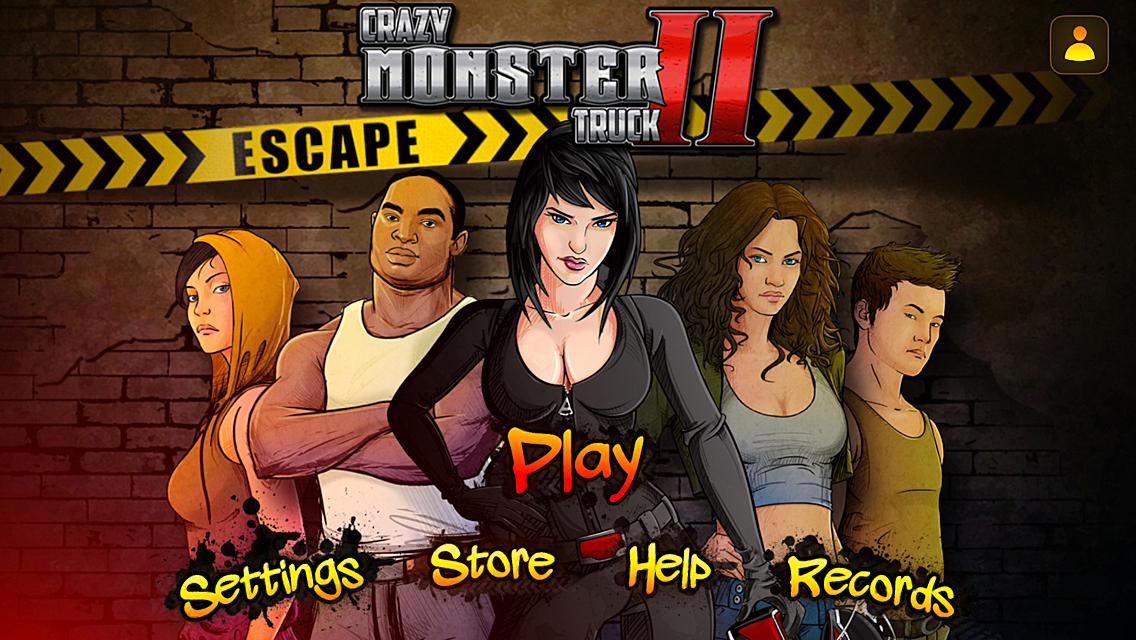 Crazy Monster Truck II - Escape
