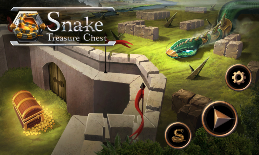 Snake Puzzle Game