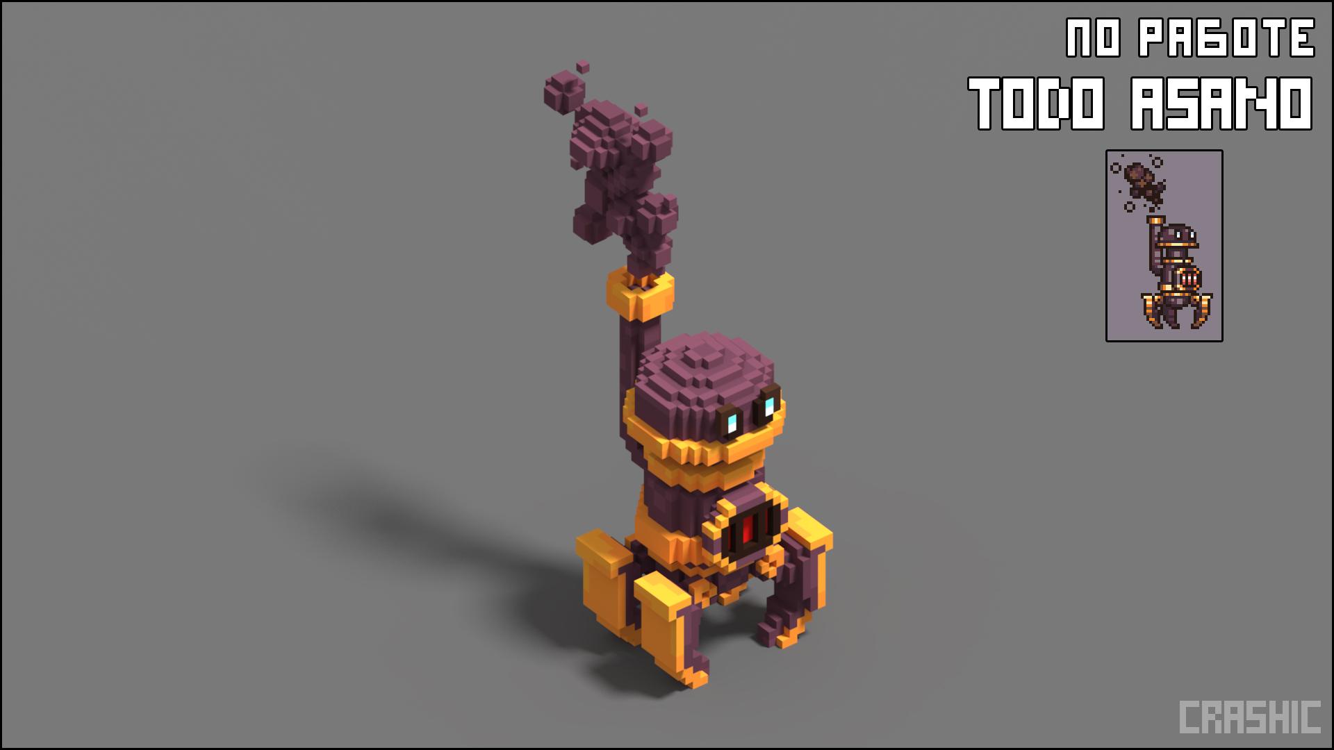 Voxel for TodoAsano