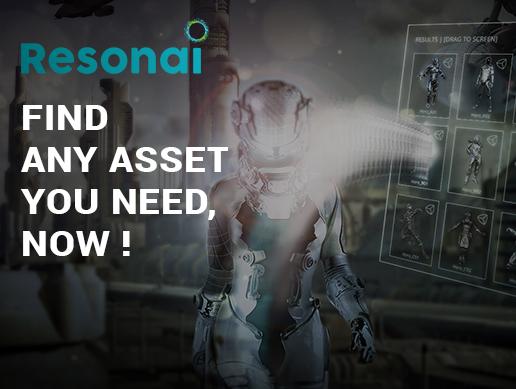 RESONAI VISUAL SEARCH for UNITY