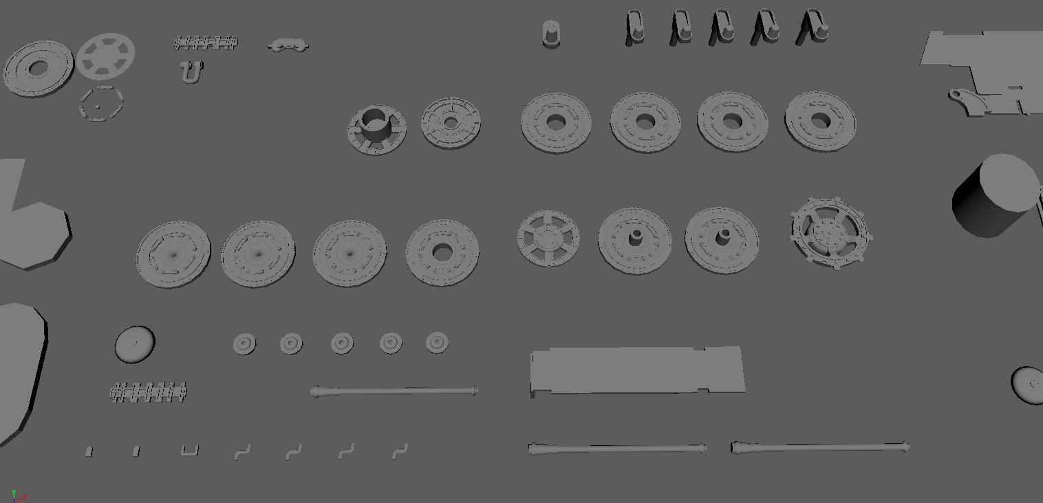 [wip] Tiger II Ausf. B full details