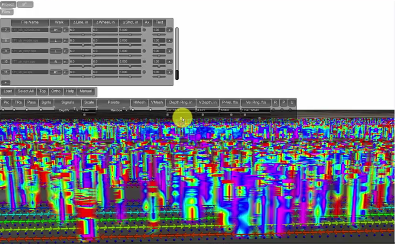 GPU Surface Scanner