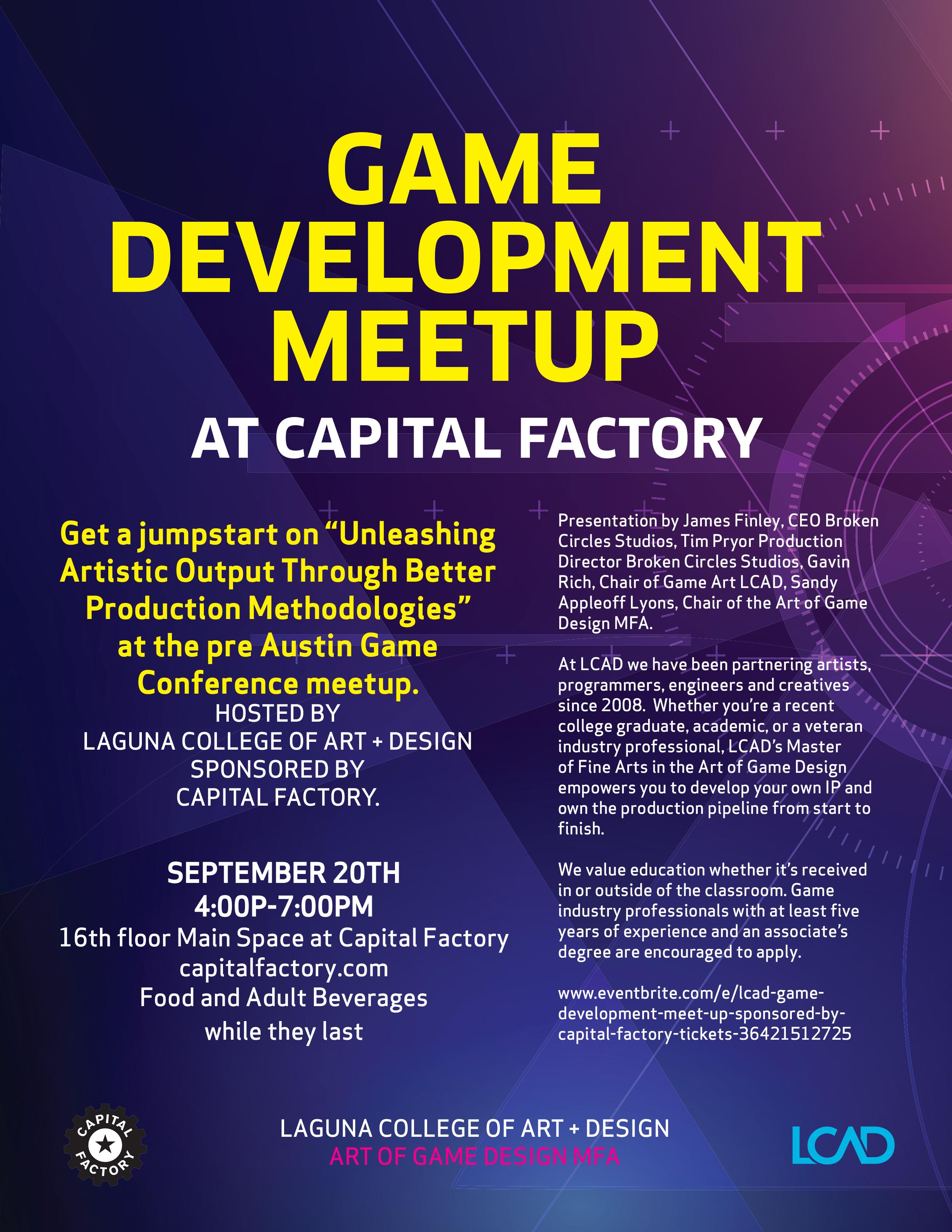 Austin Game Conf Meetup