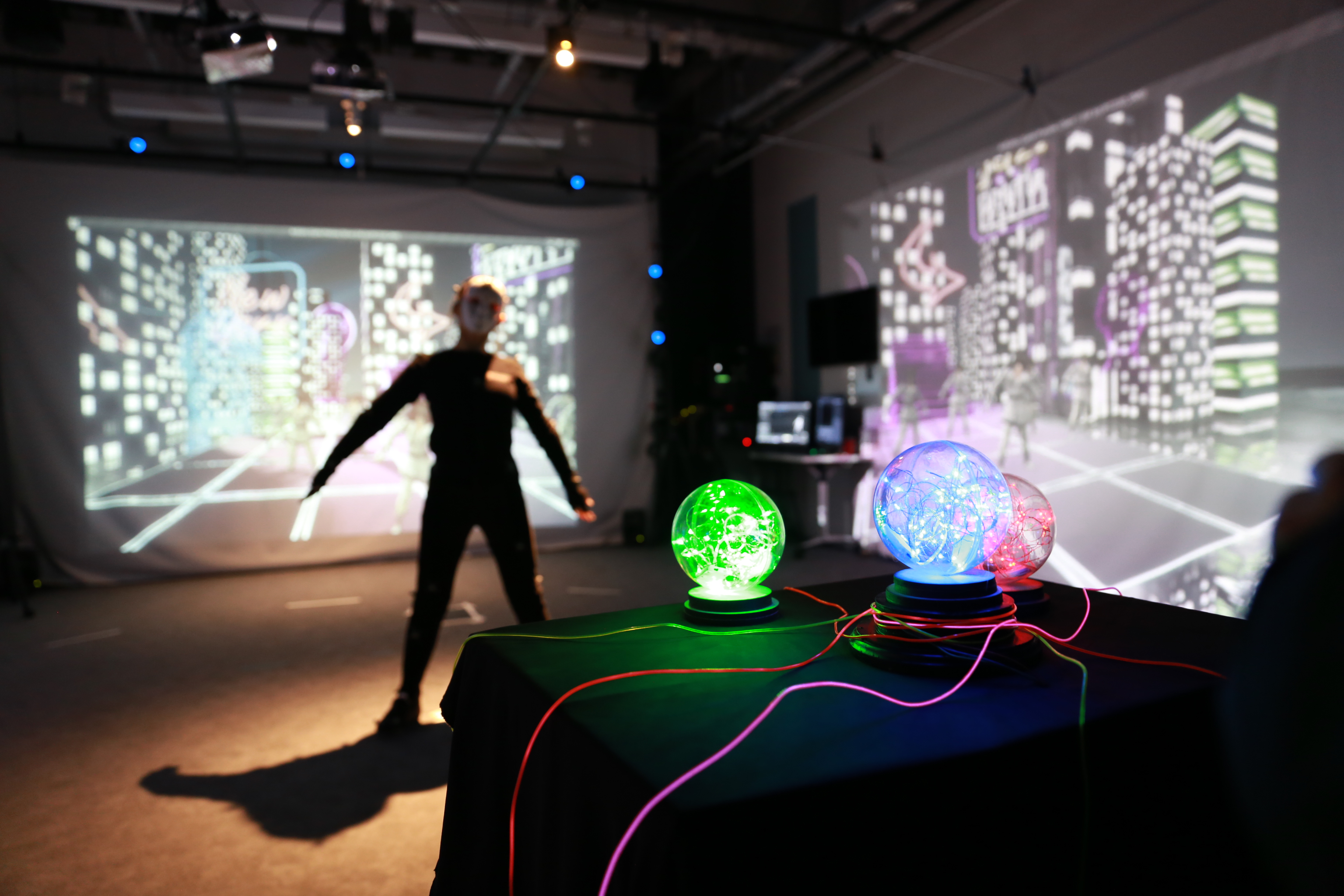 Time Machine: A Motion Capture Installation