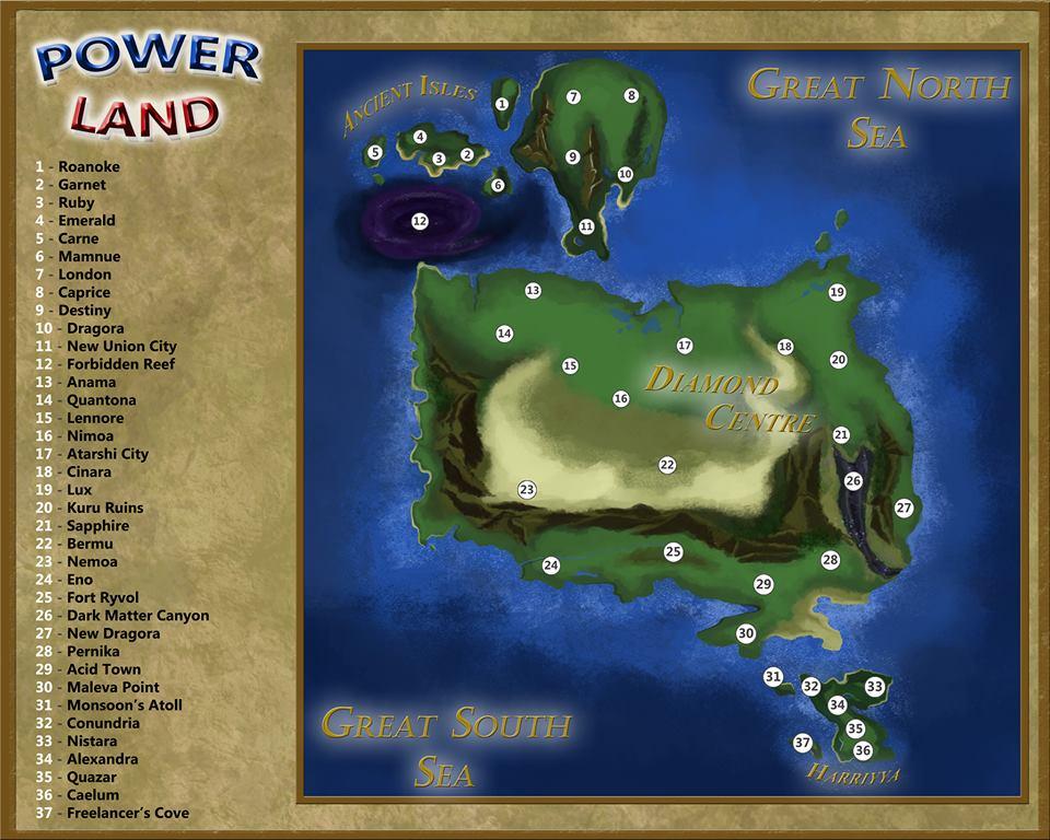 PowerLand: Genesis