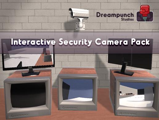 Interactive Security Camera Pack