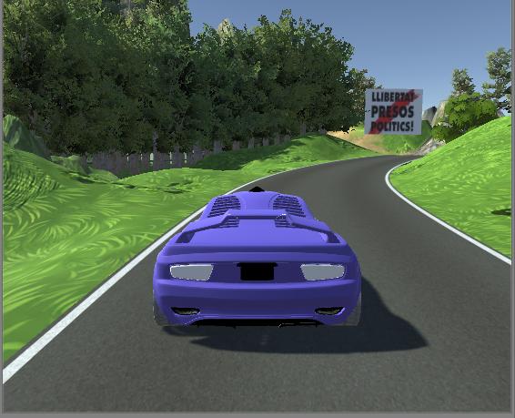 Un juego de carreras