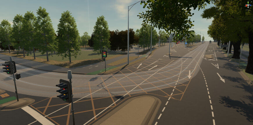 Vic Roads - Punt Road P Intersection VR