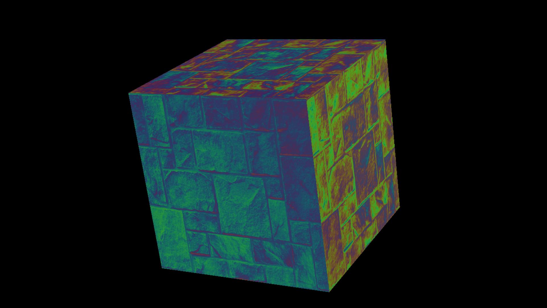 Iridescent/Hologram/Raymarching shader