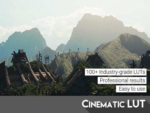 Cinematic LUT Pack