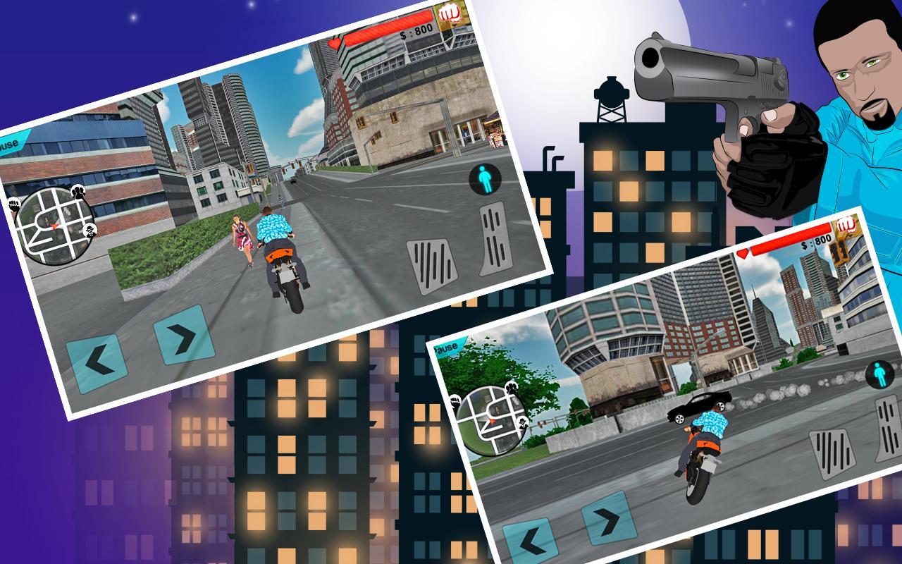 Gangster crime simulator