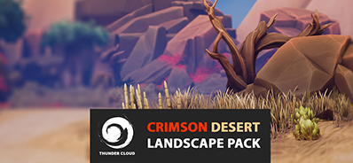 CRIMSON DESERT - MAIN UE4 LEVEL