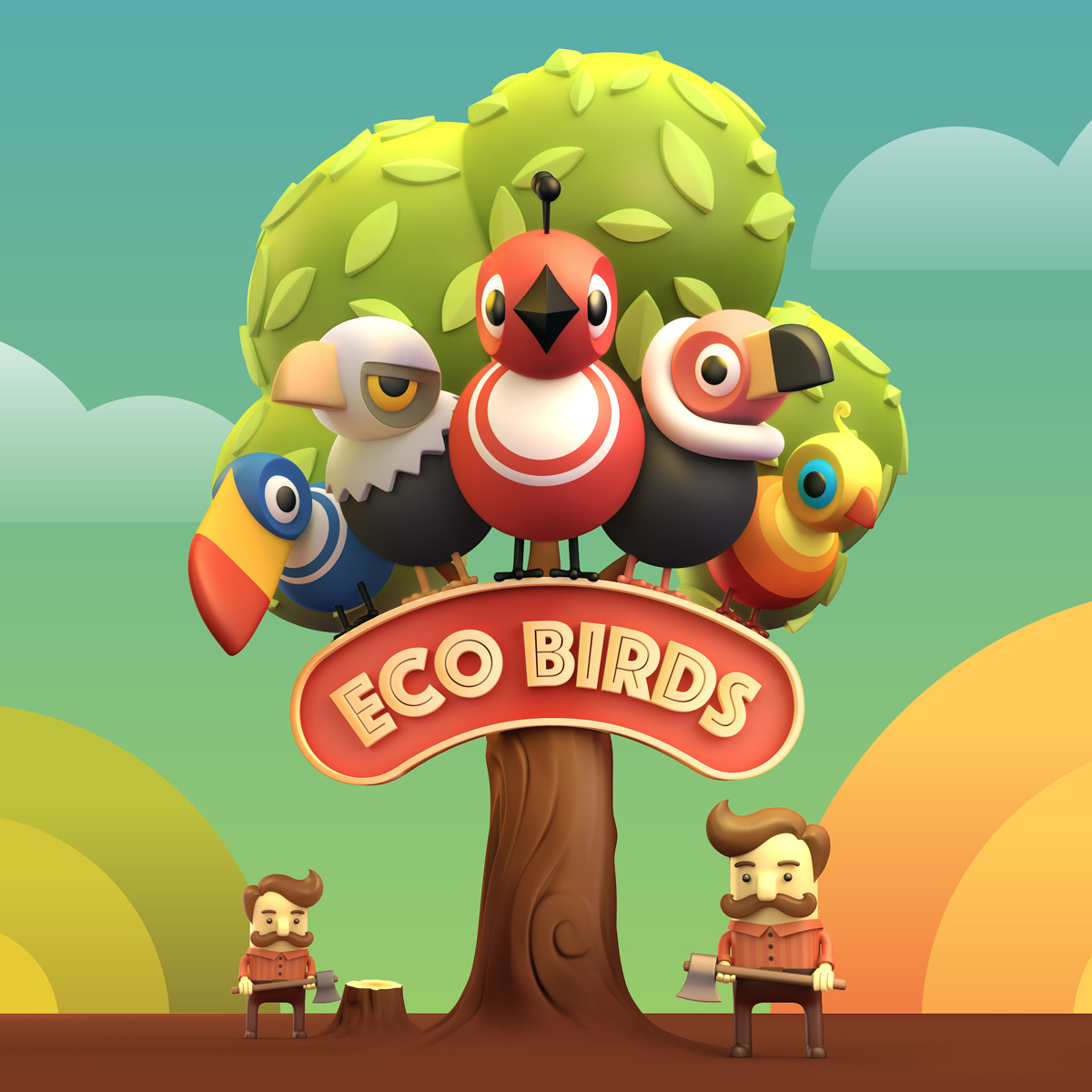 Eco Birds (mobile game)