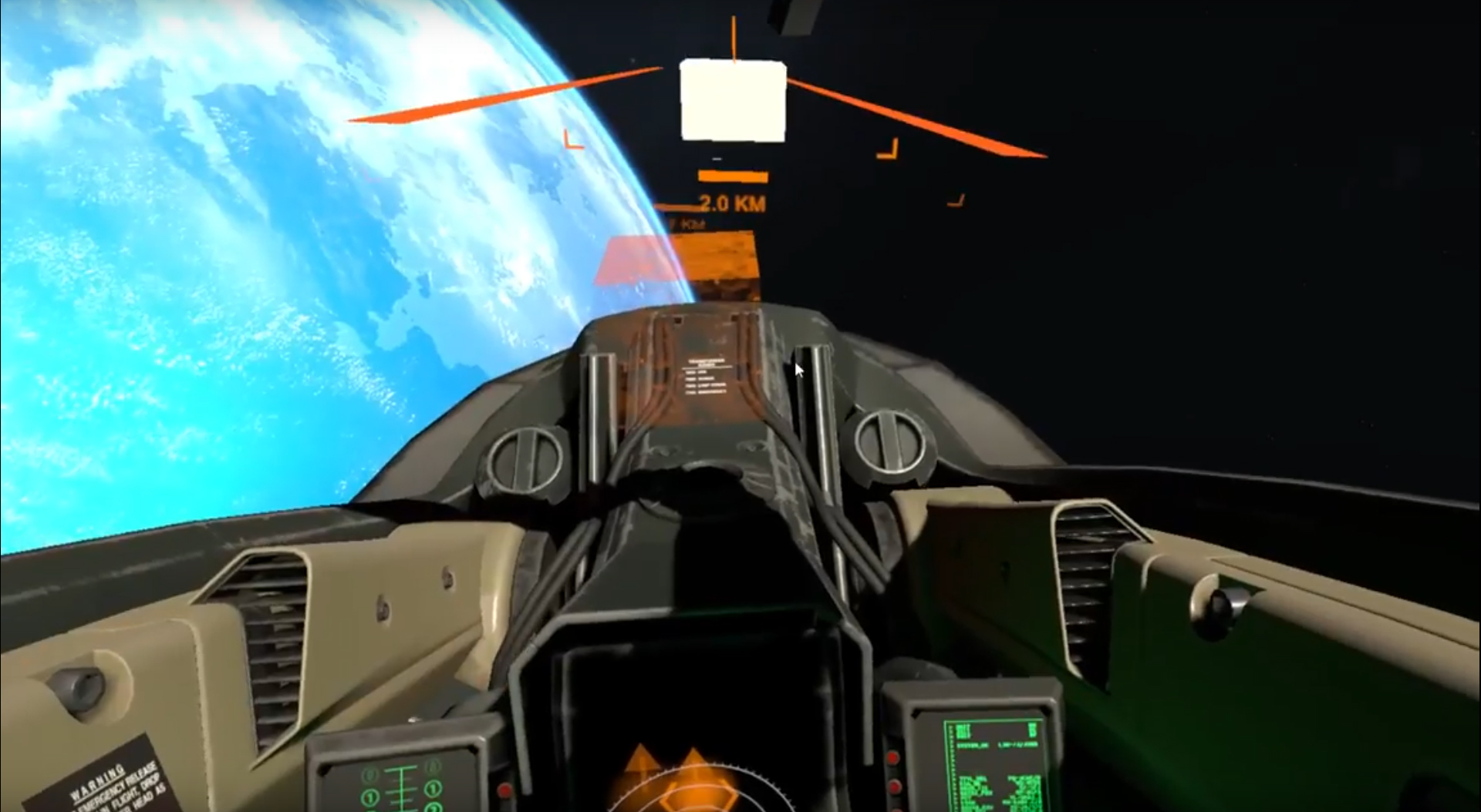 Cold Star Eclipse: VR Gameplay prototype