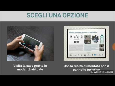 Casa Grotta VR AR - a digital visit of a medieval Italian cave