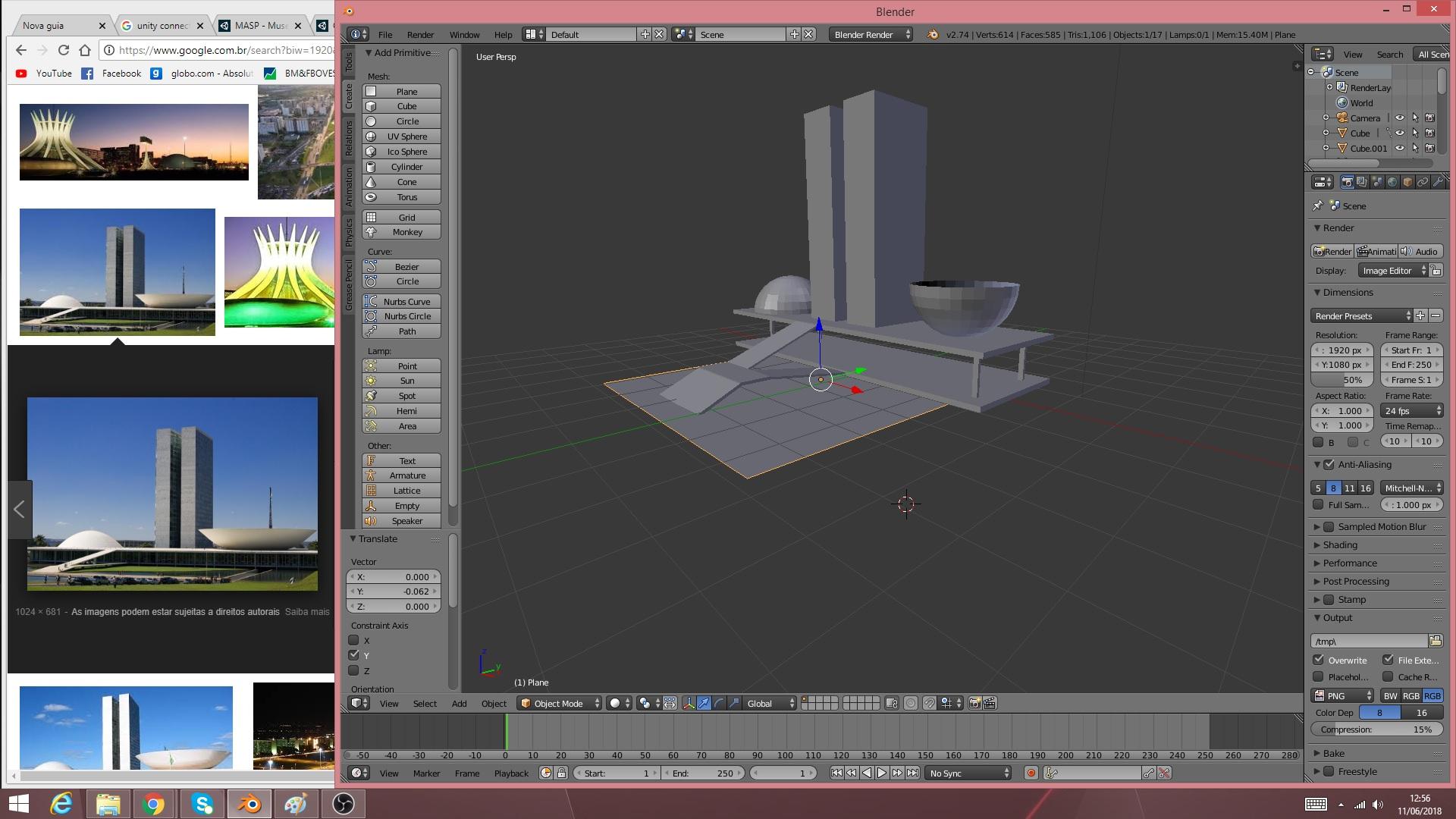 Brasilia - DF - Brasil 3D Model