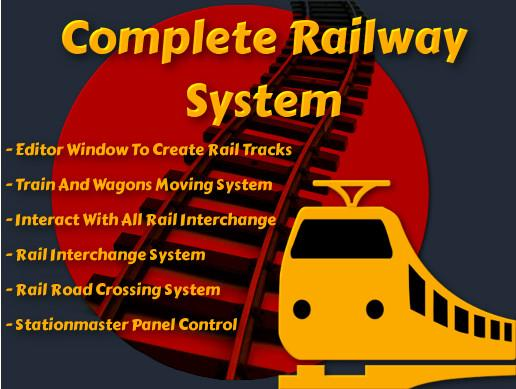 Complete Railway Model System