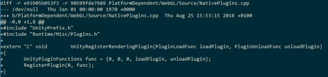 Unity WebGL中的底层插件