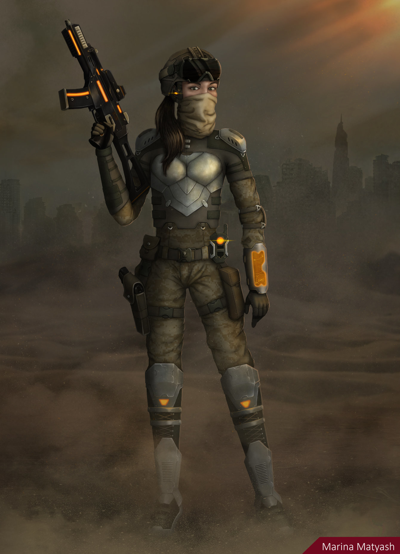 Future Soldier Concept Art