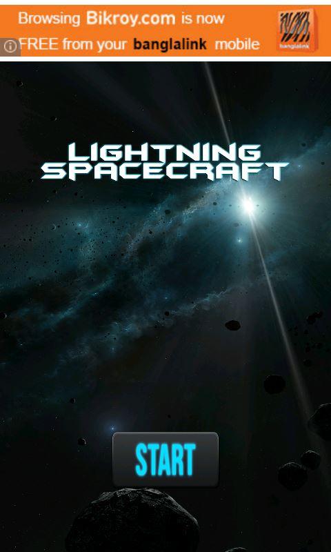 Lightinning SpaceCraft